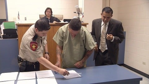 Garcia appeared before Judge Madrigal Monday morning